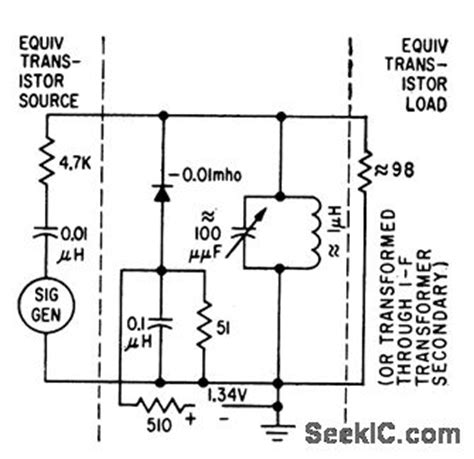 tunnel diode lifier circuit 445 kc tunnel diode lifier lifier circuit circuit diagram seekic