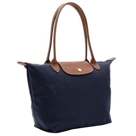 Longch Le Pliage Slh Navy authentic longch le pliage tote 2605089556 navy blue at modaqueen