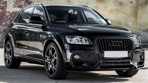 Audi Q5 Schwarz by Black Kahn Design Audi Q5 Is One Mean Crossover