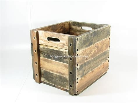 wooden crate couch wood crate wooden box table furniture storage by