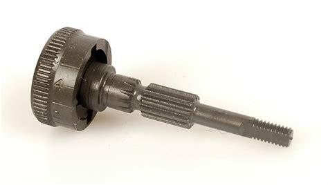 rear sight elevation knob