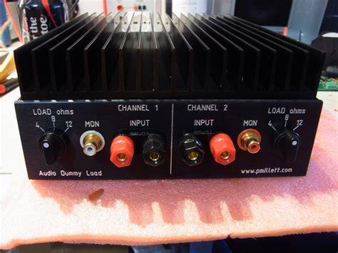 diy dummy load resistors audio dummy load