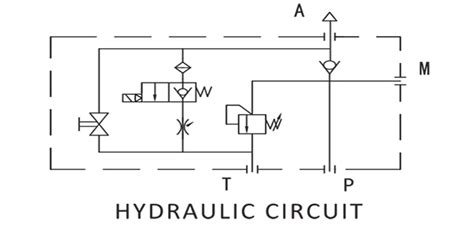 hydraulic lift circuit diagram circuit and schematics