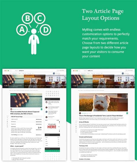 wordpress layout options myblog premium professional wordpress theme mythemeshop