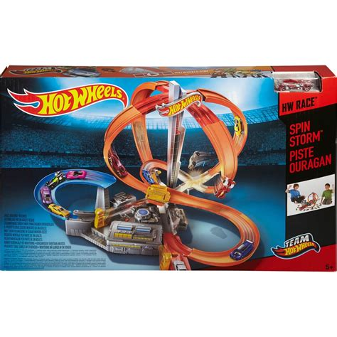 Track Racing Of Track Hotwheels Wheels Spin Track Set Race Tracks Baby