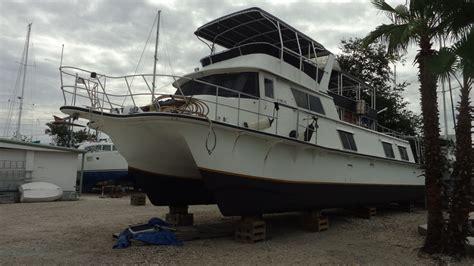live aboard boats for sale liveaboard boats for sale 63ft carri craft custom