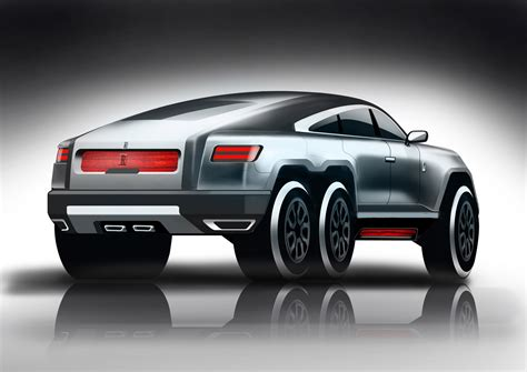 roll royce suv this rolls royce 6x6 suv design is crazy but not that