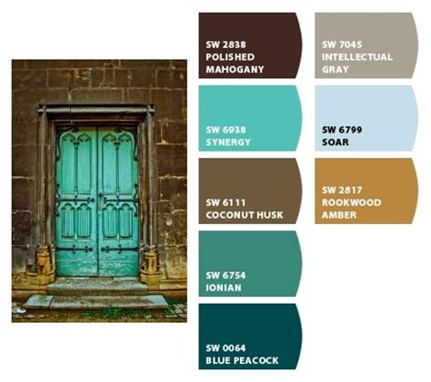 teal accents color combo with sherwin williams paint colors for the home paint