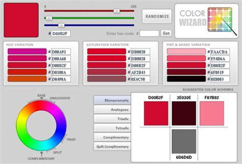 online color palette maker color wizard colour scheme generator hocuspokus