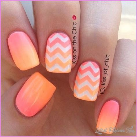 ombre nail design nail art ombre latestfashiontips com