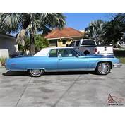 1973 Cadillac Coupe De Ville Baby Blue Very Clean