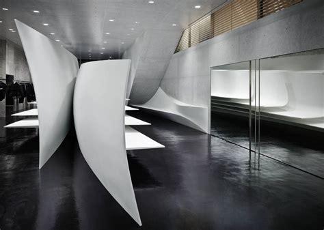 interior design zaha hadid neil barrett flagship store in tokyo japan by zaha hadid