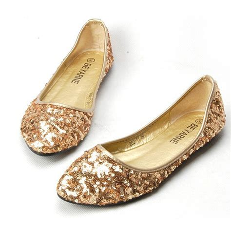 sequin flat shoes 2015 shoes fashion ballet flats sequined cloth