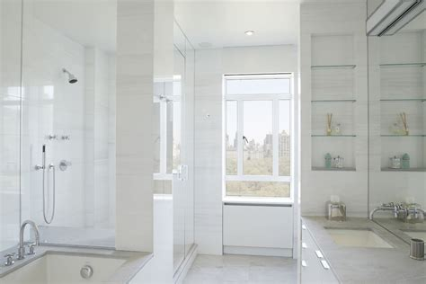 24 Bathroom Glass Shelves Designs Ideas Design Trends Glass Bathroom Shelving