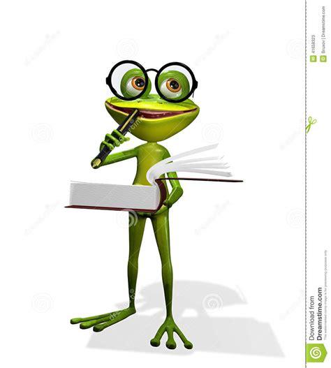 libro una rana a frog rana y libros stock de ilustraci 243 n ilustraci 243 n de rana 41658323