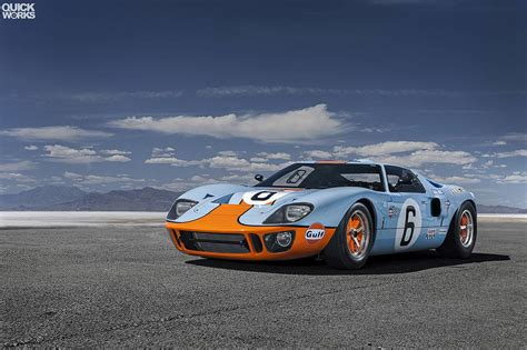 Photo Of The Day Stunning Gulf Ford Gt40 Gtspirit