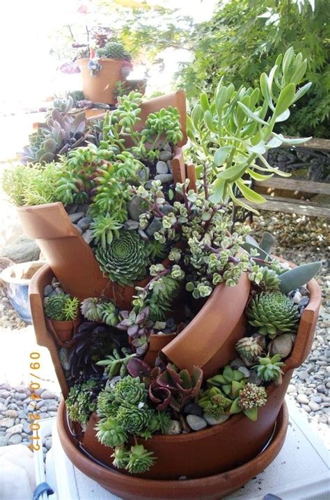 vasi da decorare decorazioni originali con i vasi in terracotta 20 idee