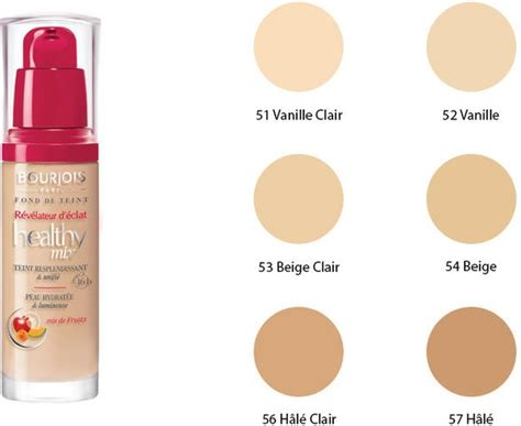 Bourjois Healthy Mix Foundation Light Beige No 53 Bourjois Healthy Mix Foundation Make Up 53 Light Beige 30