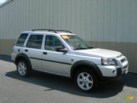 land rover freelander 2004 2004 zambezi silver metallic land rover freelander hse
