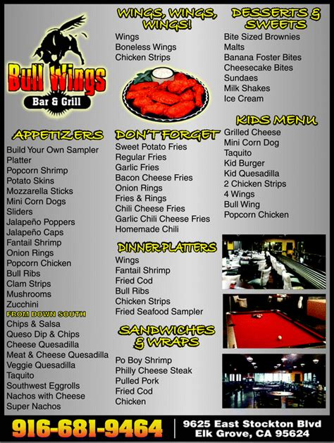 Tops Bar Bq Menu by Yellowbook The Local Yellow Pages Directory