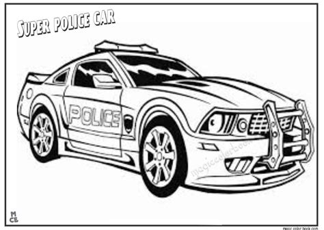police cars truck coloring pages for adults police best
