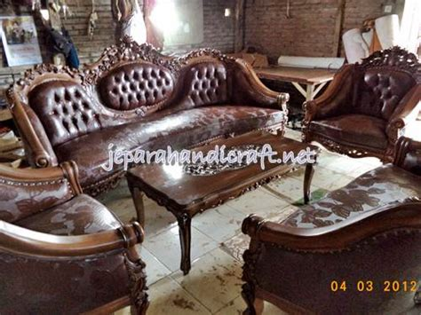Kursi Tamu Cantik Jati pin minimalis cantik produk furniture jepara garuda