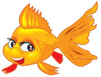 Designinspiration goldfish clipart clipartion com