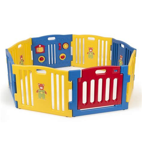 play pen new childrens 1856695247 baby playpen kids 8 panel safety play center yard home indoor outdoor new pen ebay