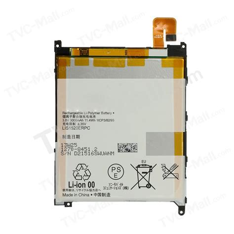 Battery Batre Baterai Experia Sony Z Ultra 3000mah lis1520erpc rechargeable li polymer battery replacement for sony xperia z ultra lte