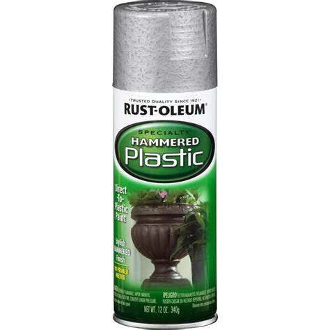 spray paint plastic silver shop rust oleum specialty paint for plastic silver