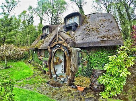 real life hobbit house imagines  fantastical book
