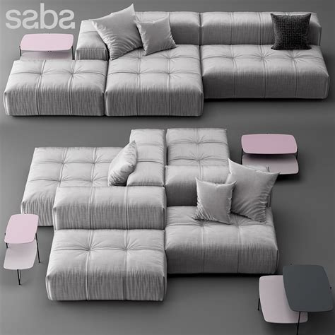 pixel couch saba italia pixel max