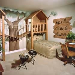 Simple boys room design with several bookcases two display all those
