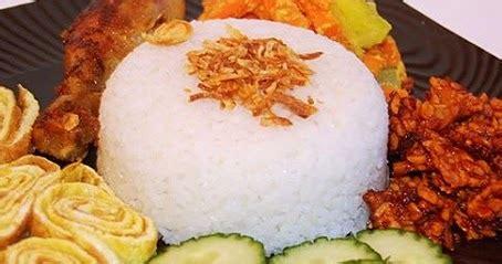 cara membuat nasi uduk pakai magic jar ini dia cara memasak nasi uduk pakai rice cooker paling
