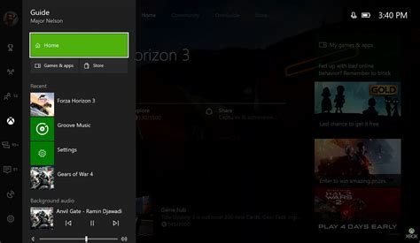 one update xbox one creators update preview releases with new