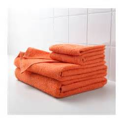 h 196 ren bath towel orange 70x140 cm ikea