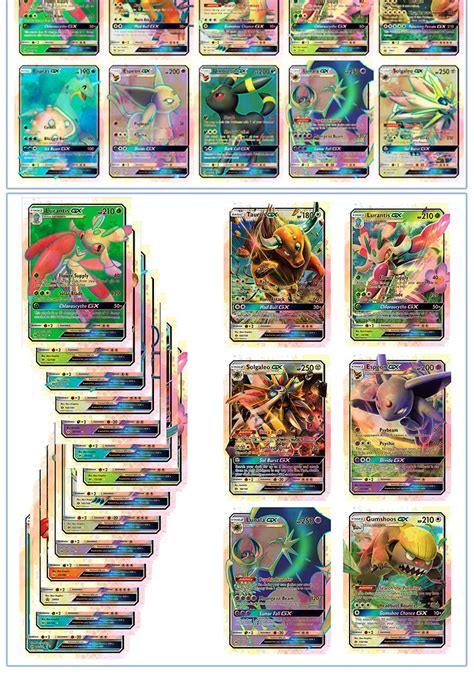 How To Pay With Ebay Gift Card - 20pcs pokemon sun and moon ultra holo pokemon gx flash cards set ebay