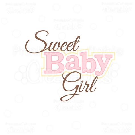 Baby Shower Titles by Sweet Baby Title Svg Cuts Clipart