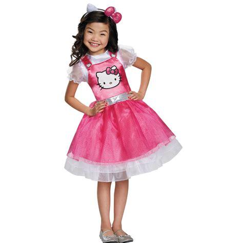 costume hello s hello pink deluxe costume