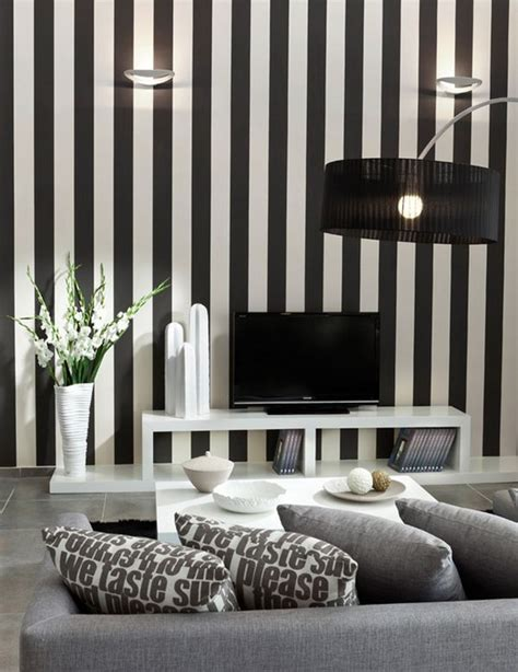 black and white striped wall 13 ways to make a ceiling look higher