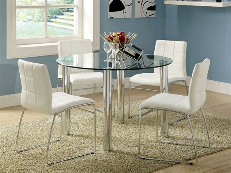Small Glass Dining Table And Chairs Glass Dining Table Homeoofficee