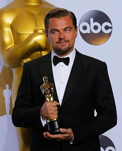 best actor leonardo dicaprio wins best actor oscar for the revenant