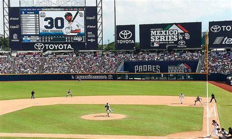 mlb anuncia  regresaran  monterrey en  pero ahora  tres series de beisbol veraz