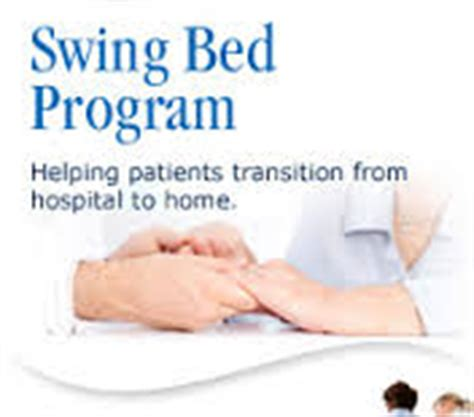 what is a hospital swing bed hospital services