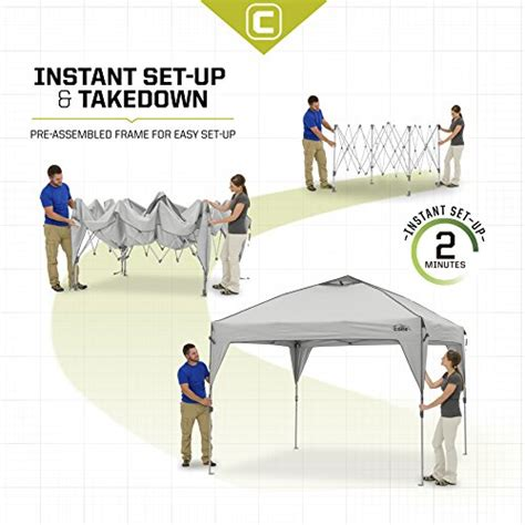 Instant Sport Runner Navy Abu 10 x 10 instant shelter pop up canopy tent with wheeled carry bag gray buy in