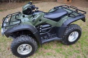 Honda Atvs For Sale 2011 Honda Fourtrax Foreman 450 Cc Atv For Sale