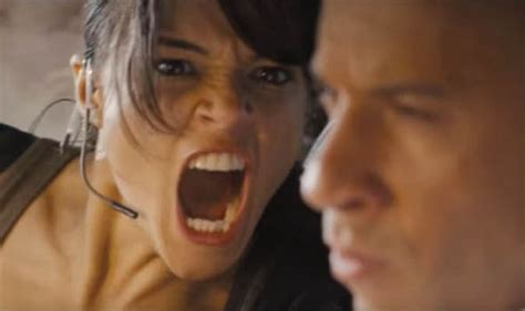 michelle rodriguez dallas fast and furious 7 best stunts car chases clips and
