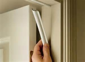how to properly install door weatherstripping country