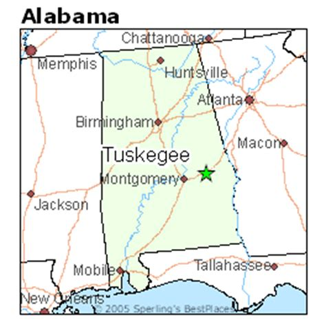map of tuskegee alabama best places to live in tuskegee alabama