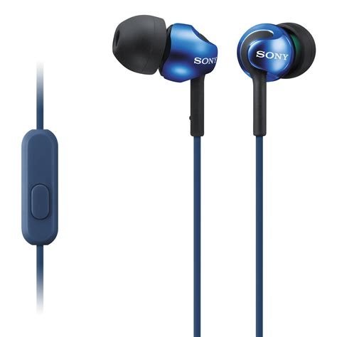 android earbuds sony mdr ex110ap monitor headphones for android mdrex110ap l b h
